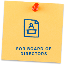 for board of directors