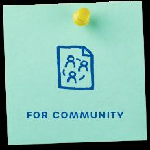for community
